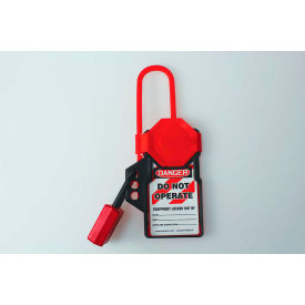 accuform kdh115 stopout® tag n hang hasp, plastic Accuform KDH115 Stopout® Tag N Hang Hasp, Plastic