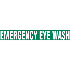 "accuform ptp187 floor stripe™ - emergency eye wash - 3"" x 12"" Accuform PTP187 Floor Stripe™ - Emergency Eye Wash - 3"" x 12"""