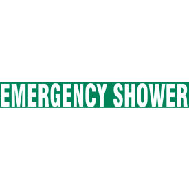 "accuform ptp189 floor stripe™ - emergency shower - 3"" x 12"" Accuform PTP189 Floor Stripe™ - Emergency Shower - 3"" x 12"""