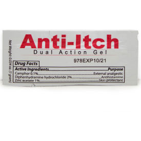 coretex® 26638 anti-itch gel pouch, dual action, 300/case CoreTex® 26638 Anti-Itch Gel Pouch, Dual Action, 300/Case