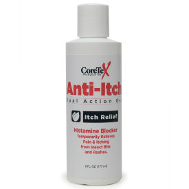 coretex® 26666 anti-itch gel bottle, 6 oz, dual action, 1-bottle CoreTex® 26666 Anti-Itch Gel Bottle, 6 oz, Dual Action, 1-Bottle