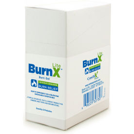 coretex® burn x lite 32730 cool gel pouch, minor burns & sunburns, lidocaine free, 25/box CoreTex® Burn X Lite 32730 Cool Gel Pouch, Minor Burns & Sunburns, Lidocaine Free, 25/Box