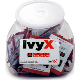 coretex® ivy x 83642 pre-contact gel, posion oak & ivy solution, fish bowl, 50 packets CoreTex® Ivy X 83642 Pre-Contact Gel, Posion Oak & Ivy Solution, Fish Bowl, 50 Packets