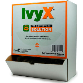 coretex® ivy x 83662 pre-contact gel, posion oak & ivy solution, wallmount pack, 50 packets CoreTex® Ivy X 83662 Pre-Contact Gel, Posion Oak & Ivy Solution, Wallmount Pack, 50 Packets