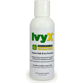coretex® ivy x 84666 post-contact cleanser, posion oak & ivy lotion, 4oz bottle, 1-bottle CoreTex® Ivy X 84666 Post-Contact Cleanser, Posion Oak & Ivy Lotion, 4oz Bottle, 1-Bottle