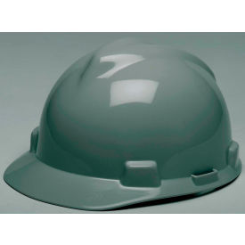 475364 MSA V-Gard; Hard Hats, Front Brim, Fas-Trac; Suspension, Navy Gray, 475364