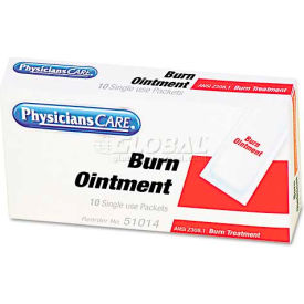 physicianscare 51014 burn ointment packets, box of 10 PhysiciansCare 51014 Burn Ointment Packets, Box of 10