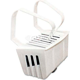 big d industries bgd661 non-para toilet bowl block, lasts 30 days, white, evergreen fragrance