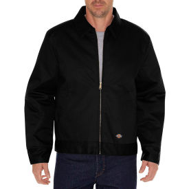 dickies® tj15 insulated eisenhower jacket, black, m Dickies® TJ15 Insulated Eisenhower Jacket, Black, M