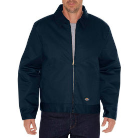 dickies® tj15 insulated eisenhower jacket, dark navy, l Dickies® TJ15 Insulated Eisenhower Jacket, Dark Navy, L