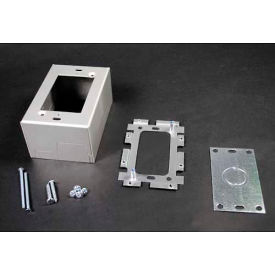 "wiremold al2044 deep switch & receptacle box, 1-gang, 120v, 15a, 4-5/8""l Wiremold AL2044 Deep Switch & Receptacle Box, 1-Gang, 120V, 15A, 4-5/8""L"