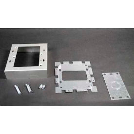 "wiremold al2047-2 switch & receptacle box, 2-gang, 120v, 15a, 4-5/8""l Wiremold AL2047-2 Switch & Receptacle Box, 2-Gang, 120V, 15A, 4-5/8""L"