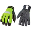 08-3710-10-XL High Visibility Performance Gloves - Safety Lime - Winter - Extra Large