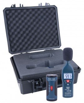 Sound Level Meter and Calibrator Kit R8050, Reed Instruments, Sound Level, dB Level, Sound Level Meter, Type 2, Sound Meter Calibrator, Testing Equipment, Measuring Equipment