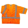 Ergodyne® Glowear® Class 3 Economy Mesh Vest, 2X-Large/3X-Large, Orange