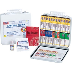 24-Unit Unitized First Aid Kit w/ Gasket