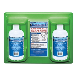 Eyewash Station, Double Bottle, 32 oz