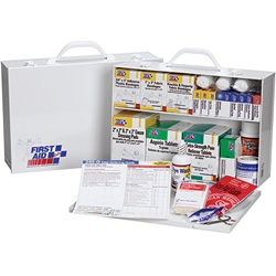 2-Shelf, 75-Person First Aid Station