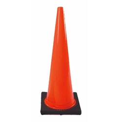 "DW Series Traffic Cone, 18"", 3 lb"