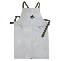 "MCR Safety® Leather Welding Apron, 24"" x 36"""
