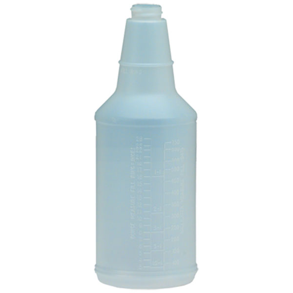 Plastic Bottle w/ Graduations, 24 oz