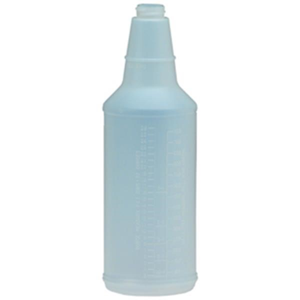 Plastic Bottle w/ Graduations, 32 oz