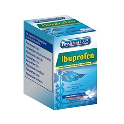 Ibuprofen Pain Reliever, 200 mg, 2 Pkg/125 ea