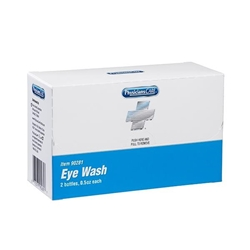 Eyewash, 0.5 oz, 2/Box