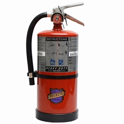 "Buckeye 10 lb Purple K Heavy-Duty High Flow Extinguisher, 17""H x 8 1/4""W x 6 1/2""D, 20B:C"