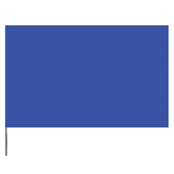 "Presco PresGlo Marking Flags, 21"", Blue Glo, 100/Case"