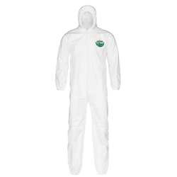 Lakeland MicroMax® NS Coveralls w/ Hood & Elastic Wrists & Ankles, Large, Vendor Packs, 50/Case
