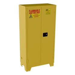 "Jamco High-Rise Safety Cabinet, 44 gal, Manual  Doors, 70""H x 34""W x 18""D"