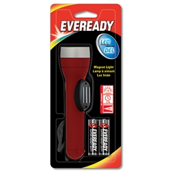 Eveready® Industrial 2AA LED Magnetic Flashlight