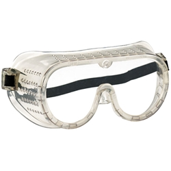 MCR Safety® Protective Goggles, Direct Vent, Perforated, Elastic Strap
