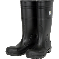 "MCR Safety® 14"" PVC Boots, Steel Toe, Size 14"