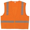 Class 2 Surveyors Vest, Orange, LG/XL