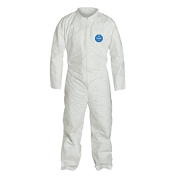 DuPont™ Tyvek® Coveralls w/ Open Wrists & Ankles, Large